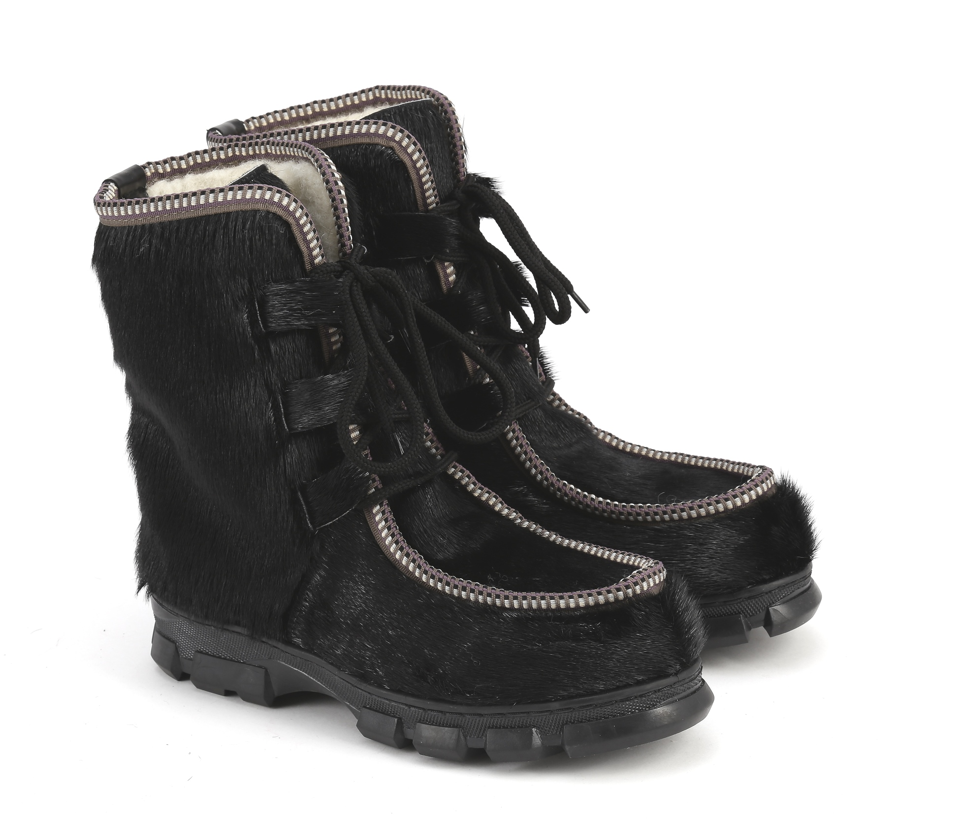 Обувь зимняя, EthnoBoot, black, size 36