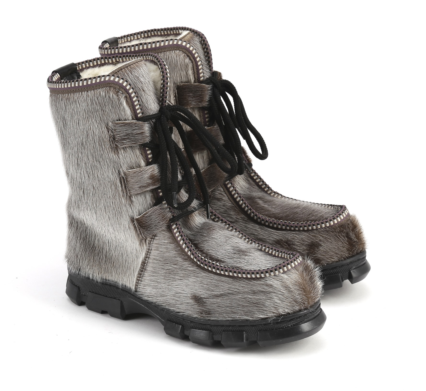 Обувь зимняя, EthnoBoot, natural, size 40