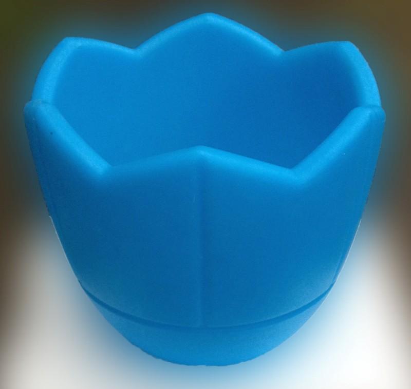 Кашпо для цветов, d300, голубой