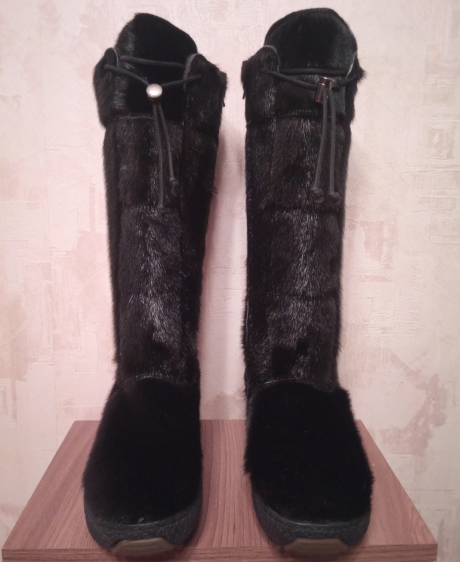 Обувь зимняя OscarBoot, black, large, size 37