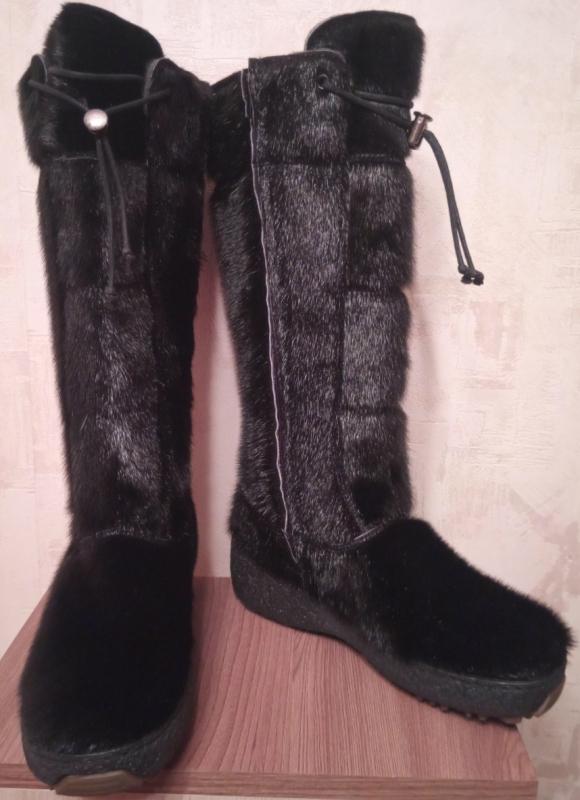 Обувь зимняя OscarBoot, black, large, size 36