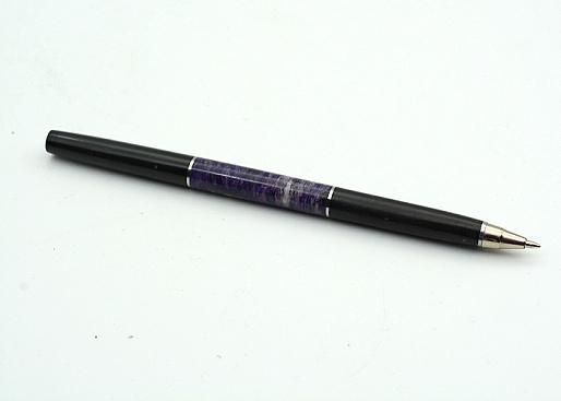 Ручка подарочная из чароита и долерита, 150*11