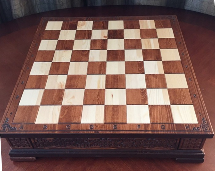 Шахматная доска, 118*500*500