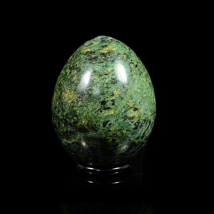Яйцо пасхальное из змеевика, 40*40*50